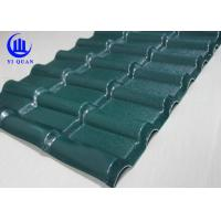 ASA Plastic Construction Corrugated Plastic Roofing Sheets Suppliers Syntehtic Resin