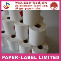 Quality Thermal paper roll sticker plant label for sale