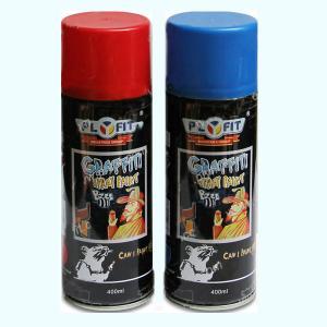 Quality Liquid Coating 400ml Acrylic Aerosol Graffiti Spray Paint LPG for sale