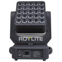 Quality RGBW 15w 5 X 5 Matrix 6° Led Moving Head Wash For Stage Lighting for sale