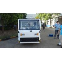 Quality White FAAM Baggage Towing Tractor Carbon Steel Material Low Consumption for sale