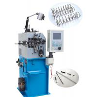 Quality High Accurate Serpentine Spring Coil Machine , Stable CNC Wire Bender Machine for sale