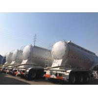 Quality 3 axles 60ton v shape cement bulker trailer for sale