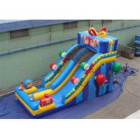 Quality Happy Birthday Gift Inflatable Water Slide with Silk - screen Printing for sale
