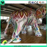 Buy Large Colorful Inflatable Elephant / Outdoor Advertising Balloon For Big Event at wholesale prices