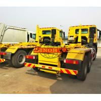 Heavy Hook Lift Garbage Truck, 20 Ton Loading 6x4 Waste Container Truck
