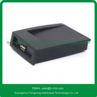 China RFID contactless smart card reader/writer with USB,125KHZ/13.56MHz reader on sale