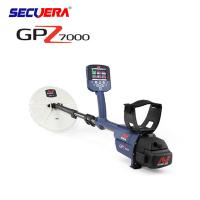 Buy Black Deep Search Underground Metal Detector Long Range For Gold And Silver underground search metal detector GPZ7000 at wholesale prices