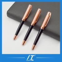 Quality Top Luxury Rose Gold Eco Friendly Metal Roller Pen Gifts Promotion Pen for sale