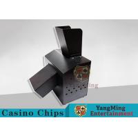 Quality Black Automatic Casino Game Accessories For Cutting Off Broken Poker Cards for sale