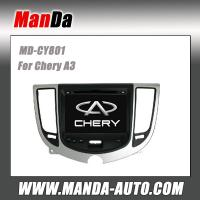 Quality Manda 2 din car dvd player for Chery A3 indash head unit factory audio touch screen dvd satellite radio for sale