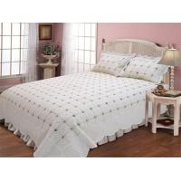 Quality Microfiber / Cotton Full Size Bed Sets With Geometric Pattern Designs for sale