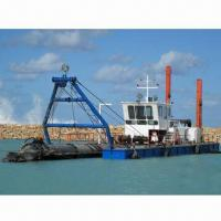 Quality River Dredger, Easily Operated for Sand and Gravel Dredging Equipped with Cutter Head for sale
