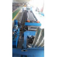 Quality Metal Roll Forming Machine , Galvanized Corrugated Steel Silo Forming Machine for sale