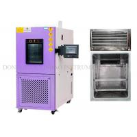 Quality Programmable Temperature Humidity Test Chamber , Environmental Chamber Humidity Control 0.5℃ Accuracy for sale