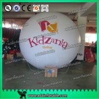 Quality Inflatable Helium Balloons Golden Round , Blank Sphere Ball , Cartoon Character for sale