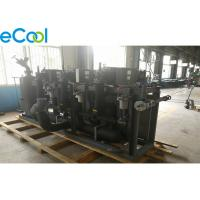 China PLC Control Refrigeration Compressor Unit For Fruit And Vegetable Cold Room on sale