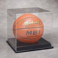 Buy Basketball Acrylic Display Stand Case For Sport Equipment Advertising at wholesale prices