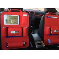 China Custom Logo Large Car Seat Back Storage Bag Easy Installation And Removing on sale