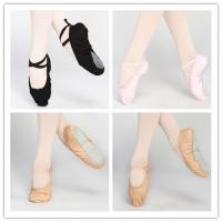 Quality Dttrol leather canvas ballet shoes slippers for sale