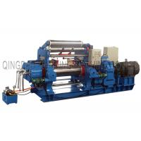 Buy cheap Motor adjust roller gap with stock blender Bearing type Rubber Mixing Mill, Open from wholesalers