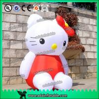 Quality 2M Oxford Cloth Event Decoration Inflatable Kitty Cartoon for sale