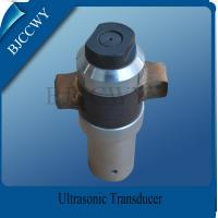 Ceramic Piezoelectric Transducer High Frequency Ultrasonic Transducer