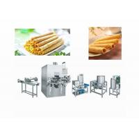 Quality Energy Saving Egg Roll Forming Machine / Pie Dough Rolling Machine for sale