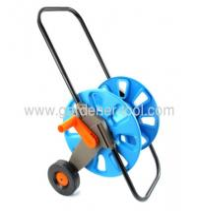 garden hose reel, hose cart with nozzle, water hose reel, garden