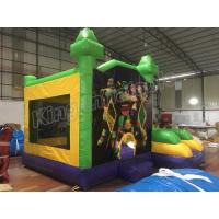 China Teenage Mutant Ninja Turtle Inflatable Bouncy Castle For Childrens on sale