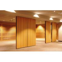 Quality Hanging Floor To Ceiling Wooden Acoustic Room Dividers 1220mm width for sale