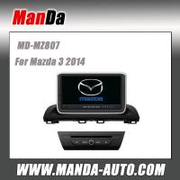 Quality Factory dvd car sat nav for Mazda 3 2014 car stereo headunits satellite gps radio bluetooth dvd car monitors for sale