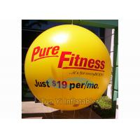 China Weather Resistant Printed Helium Balloons Sphere / Printed Cloud Buster on sale
