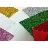 Buy cheap Solid Color Adhesive Glitter EVA Foam Sheet High Density For Handcraft And Decoration from wholesalers