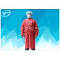 Quality Soft Breathable Disposable Gowns For Hospitals Comfortable To Wear for sale