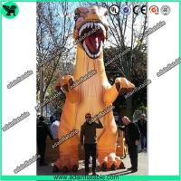 Quality 5m Printing Giant Decorative Dragon Inflatable Dinosaur For Outdoor Event Decoration T-REX for sale