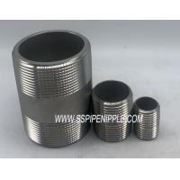 "Quality SCH40 / SCH80 Stainless Steel Pipe Nipple304 316  3/4""X4"" NPT ASTM A312 for sale"