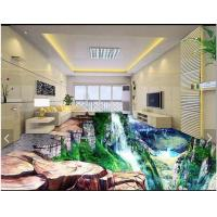 Quality Waterproof Chemical Resistance Epoxy Resin 3D floor Paint for sale