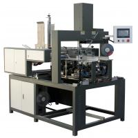 Buy cheap Shoe Box Automatic Rigid Box Making Machine Single Arm Press For Corner Pasting from wholesalers