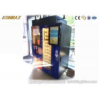 Quality Automatic Orange Fresh Vending Machine 24 Hours Service Help Cashless Payment for sale