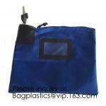 China Locking Security Money Bag, Cash Bag,Bank Bag Canvas Keyed Security,Money Bag with Key Lock Keyed Security, security bag for sale