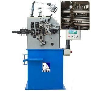 Blue Compression Spring Machine / 380V 50HZ Coil Spring Manufacturing Machine
