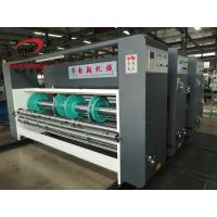 China YIKE Corrugated Box Chain Feeder Water Ink Two Color Printer Manual Slotter Machine on sale