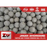 Quality Low Broken Rate Sag and AG Mill Grinding Media Balls / Forging Steel Balls for sale
