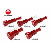Quality Geological Exploration Use DTH Tapered Button Bits For Mission Series for sale