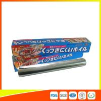 Buy cheap OEM Kitchen Aluminium Foil Roll Food Grade For Cooking / Freezing from Wholesalers