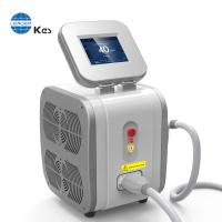 Quality Double TEC great cooling system 3 wavelength 755nm+808nm+1064nm professional soprano painless diode laser hair removal for sale