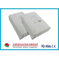 Quality Paraben Free Medline Disposable Dry Wipes No Chemicals 100% Flushable Material for sale
