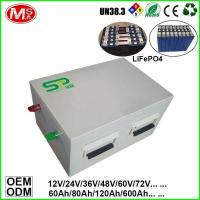 Quality Customized deep cycle life rechargeable lifepo4 battery pack for electric vehicle for sale