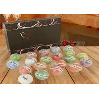 Quality Premium Lush Bath Bombs Gift Set / Homemade Bath Fizzies For Kids Skin Care for sale